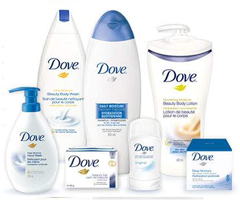 Dove-body-care-products